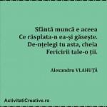 Cuvinte Celebre  ALEXANDRU VLAHUTA